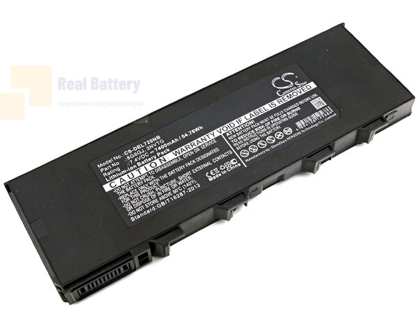 Аккумулятор CS-DEL720NB для DELL Latitude 12 Rugged Extreme 720  7,4V 7400mAh Li-ion