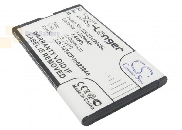 Аккумулятор CS-ZTU288SL для ZTE U288 3,7V 1200Ah Li-ion
