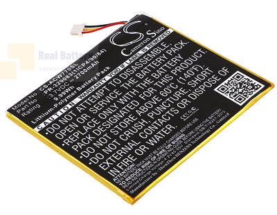 Аккумулятор CS-ACW770SL для Acer Iconia One 7 B1-770 3,7V 2700Ah Li-Polymer