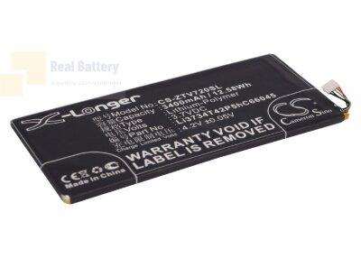 Аккумулятор CS-ZTV720SL для ZTE V72 3,7V 3400Ah Li-Polymer