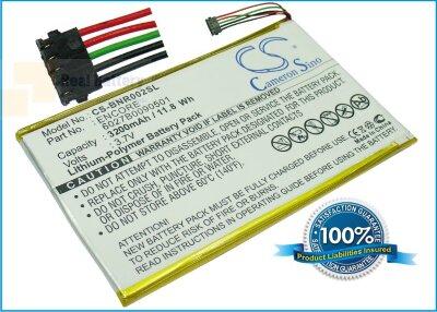 Аккумулятор CS-BNR002SL для Barnes & Noble BNRB200 3,7V 3200Ah Li-Polymer