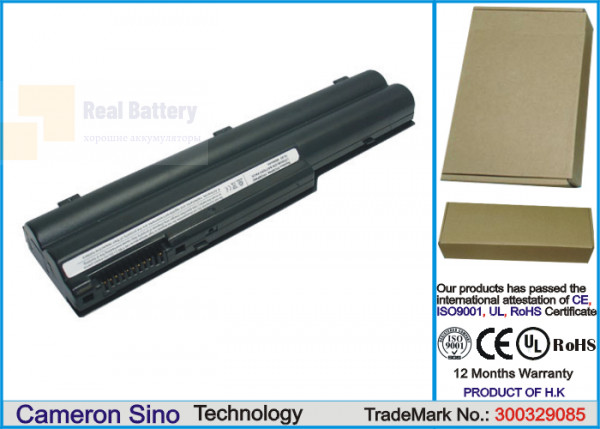 Аккумулятор CS-FU7011NB для Fujitsu FMV-BIBLO MG70M  10,8V 4400mAh Li-ion