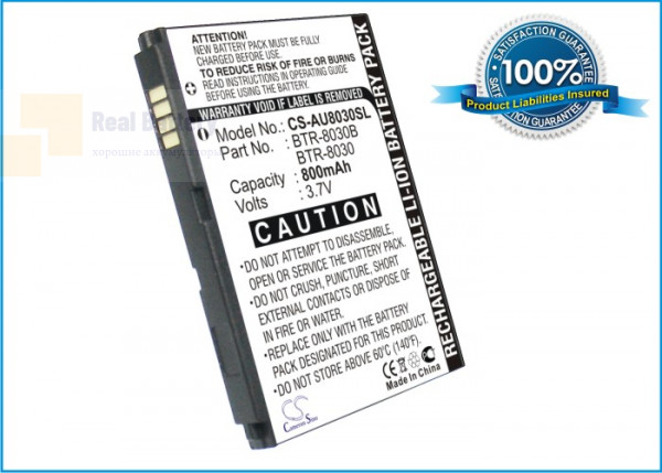 Аккумулятор CS-AU8030SL для UTStarcom  3,7V 800Ah Li-ion