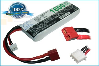 Аккумулятор CS-LP1602C30RT для RC CS-LP1602C30RT 7,4V 1600Ah Li-Polymer