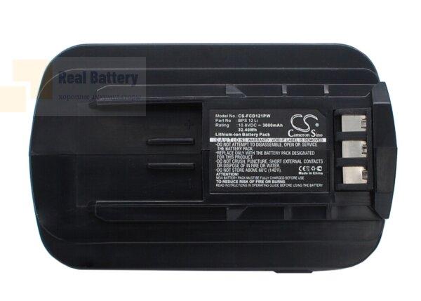 Аккумулятор для Festool T12+3 Cordless Drill 10,8V 3Ah Li-ion CS-FCD121PW