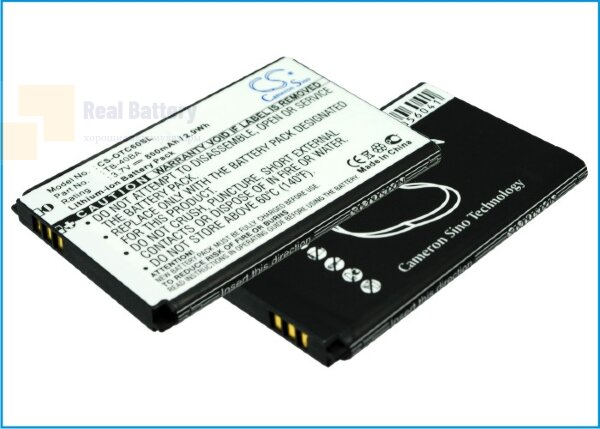 Аккумулятор CS-OTC60SL для TCL E330 3,7V 800Ah Li-ion