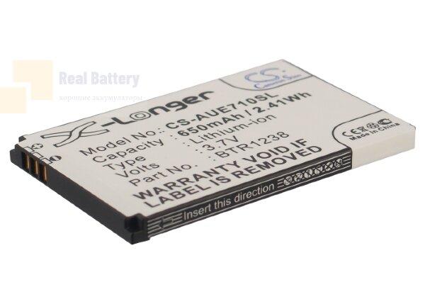 Аккумулятор CS-AUE710SL для UTStarcom E1000 Slider 3,7V 650Ah Li-ion