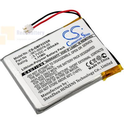 Аккумулятор CS-GMF920SH для Garmin Forerunner 920XT 3,7V 300Ah Li-Polymer