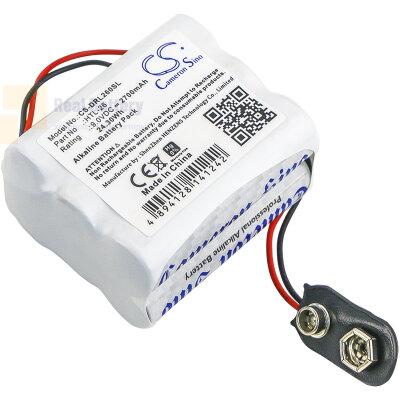 Аккумулятор CS-DRL260SL для Vingcard 12 9V 2700Ah Alkaline