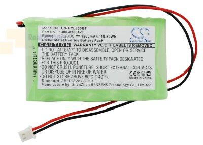 Аккумулятор CS-HYL300BT для GP GP130AAM6BMX 7,2V 1500Ah Ni-MH