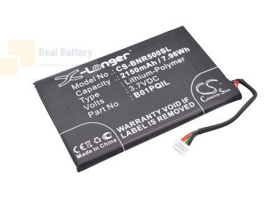 Аккумулятор CS-BNR500SL для Barnes & Noble BNRV500 3,7V 2150Ah Li-Polymer