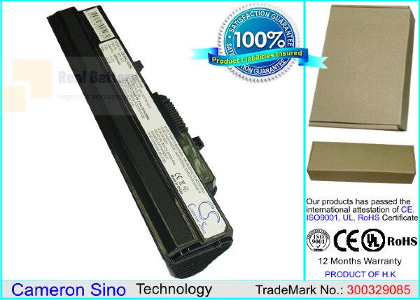 Аккумулятор CS-MSU100DB для Ahtec Netbook LUG N011 11,1V 6600mAh Li-ion