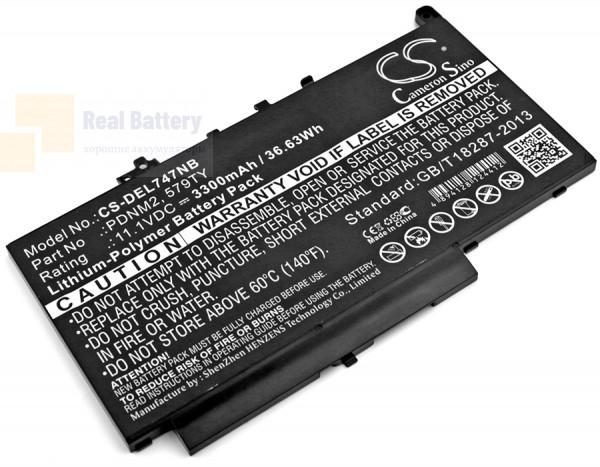 Аккумулятор CS-DEL747NB для DELL Latitude E7270  11,1V 3300mAh Li-Polymer