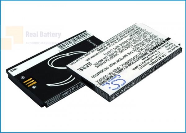Аккумулятор CS-ZTV300SL для ZTE V190 3,7V 600Ah Li-ion