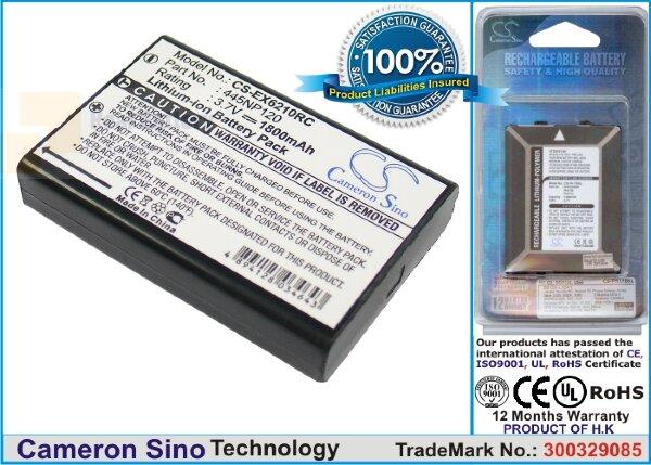 Аккумулятор CS-EX6210RC для AXIMCom MR-102N 3,7V 1800Ah Li-ion