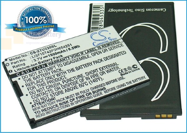 Аккумулятор CS-ZTU230SL для Telstra AC30 3,7V 1200Ah Li-ion