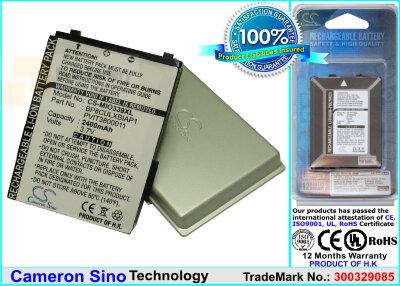 Аккумулятор CS-MIO339XL для Viewsonic V36 3,7V 2400Ah Li-ion