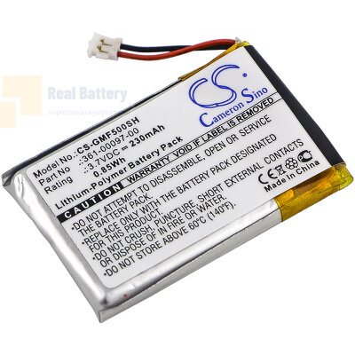 Аккумулятор CS-GMF500SH для Garmin Fenix 5 3,7V 230Ah Li-Polymer