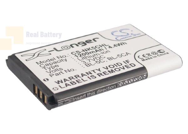 Аккумулятор CS-NK5CHL для Sonstige Equinux tizi Mobile TV 3,7V 1200Ah Li-ion