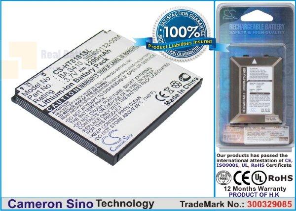 Аккумулятор CS-HT8181SL для Vodafone Desire 3,7V 1200Ah Li-ion