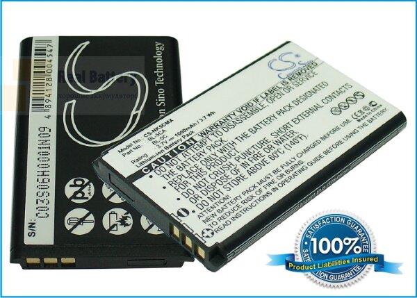 Аккумулятор CS-NK5CMX для Sonstige Equinux tizi Mobile TV 3,7V 1000Ah Li-ion
