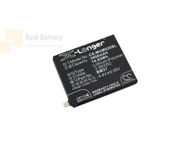 Аккумулятор CS-MUM520SL для Xiaomi Mi 5s Plus ( International Ver 3,85V 3800Ah Li-Polymer