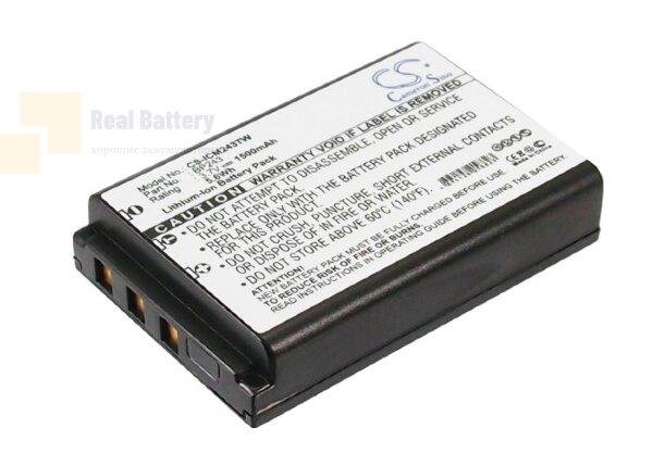 Аккумулятор CS-ICM243TW для Icom IC-E7 3,7V 1500Ah Li-ion