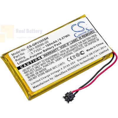 Аккумулятор CS-GRV200SH для Garmin Vivoactive HR 3,7V 180Ah Li-Polymer