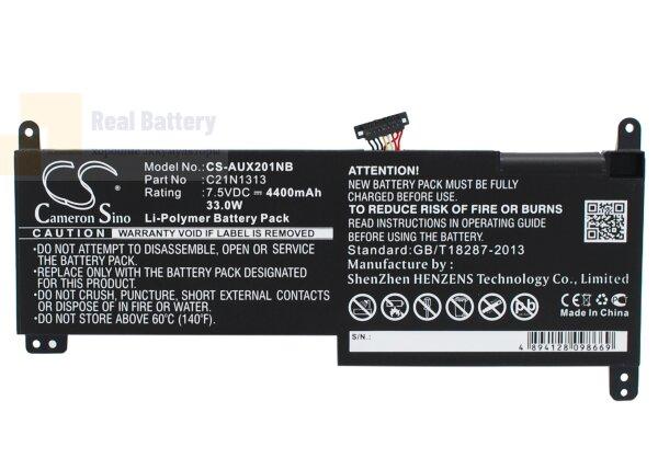 Аккумулятор CS-AUX201NB для Asus Transformer Book Trio TX201  7,5V 4400mAh Li-Polymer
