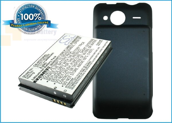 Аккумулятор CS-HT6100XL для Sprint EVO Shift 4G 3,7V 2400Ah Li-ion