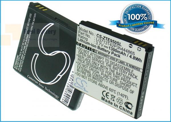 Аккумулятор CS-ZTE950SL для SoftBank 003Z 3,7V 1300Ah Li-ion