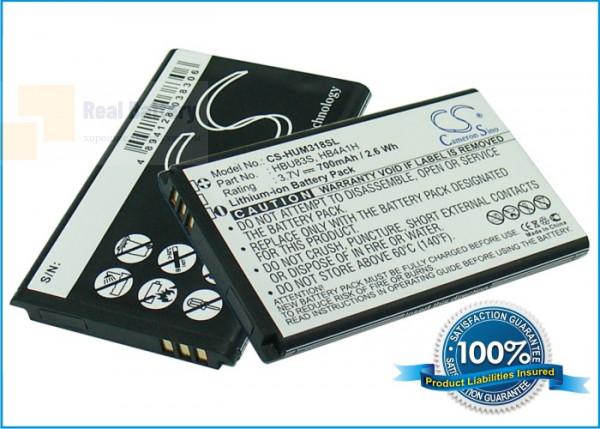 Аккумулятор CS-HUM318SL для Vodafone 715 3,7V 700Ah Li-ion