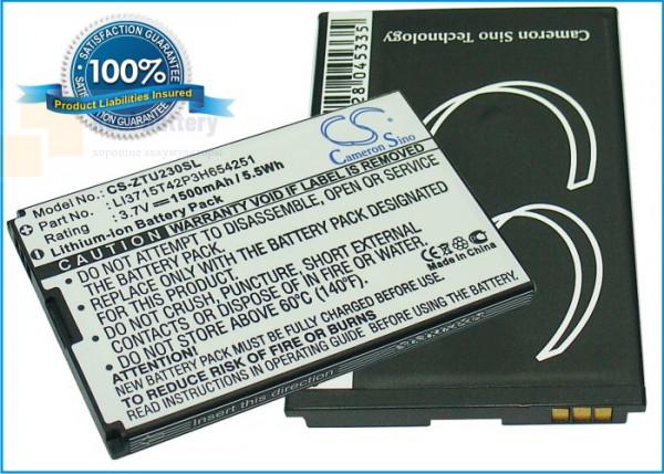 Аккумулятор CS-ZTU230SL для B-Mobile BT001W 3,7V 1200Ah Li-ion
