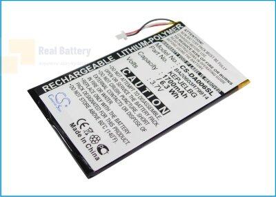 Аккумулятор CS-DA006SL для Creative Zen Vision M 3,7V 1700Ah Li-Polymer