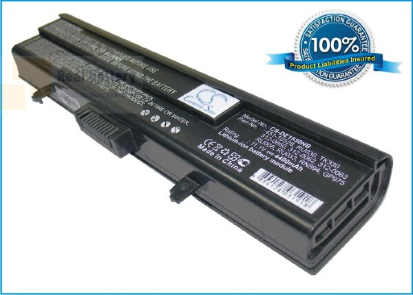 Аккумулятор CS-DE1530NB для DELL XPS M1500  11,1V 4400mAh Li-ion