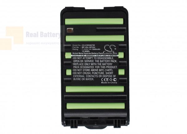 Аккумулятор CS-ICM300TW для Icom IC-F3001 7,2V 1800Ah Ni-MH