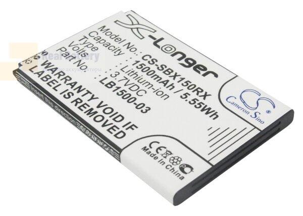 Аккумулятор CS-SBX150RX для T-Mobile E582 3,7V 1500Ah Li-ion