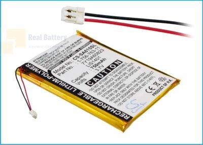 Аккумулятор CS-SA615SL для Sony NW-S710 3,7V 750Ah Li-Polymer