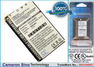 Аккумулятор CS-LODJRC для Logitech Wireless DJ Music System 3,7V 950Ah Li-ion