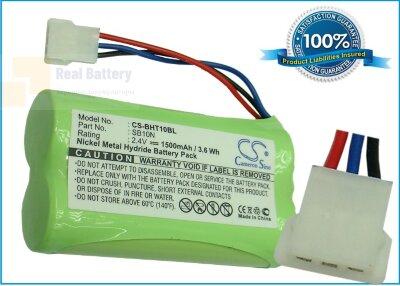 Аккумулятор CS-BHT10BL для Nippon SB10N 2,4V 1500Ah Ni-MH