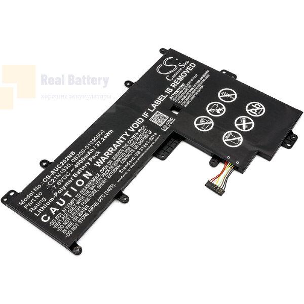 Аккумулятор CS-AUC202NB для Asus Chromebook C202  7,6V 4900mAh Li-Polymer