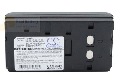 Аккумулятор CS-NP55 для HP Deskjet 340 6V 2100Ah Ni-MH