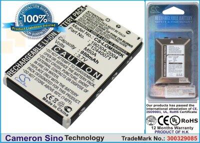 Аккумулятор CS-LOM50RK для Logitech diNovo Edge 3,7V 950Ah Li-ion