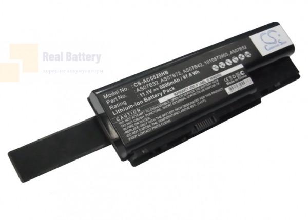 Аккумулятор CS-AC5520HB для Acer Aspire 5220G   11,1V 8800mAh Li-ion