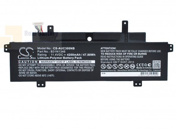 Аккумулятор CS-AUC300NB для Asus C300MA-DB01  11,4V 4200mAh Li-Polymer