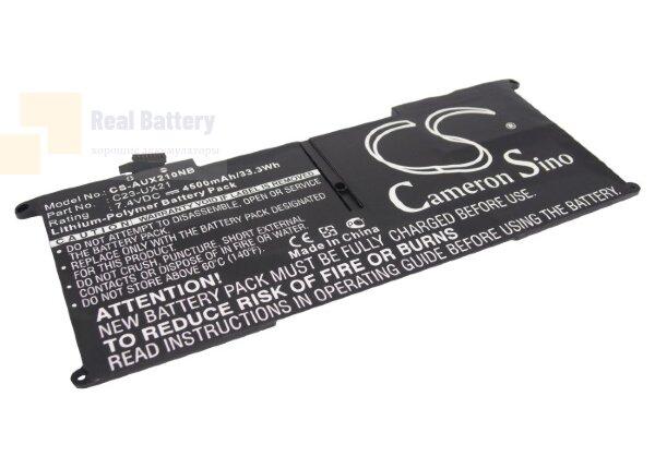 Аккумулятор CS-AUX210NB для Asus UX21  7,4V 4500mAh Li-Polymer