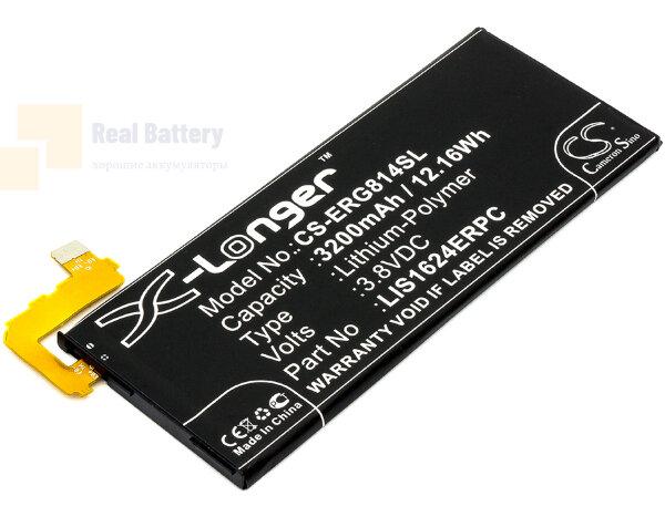 Аккумулятор CS-ERG814SL для Sony G8141 3,8V 3200Ah Li-Polymer