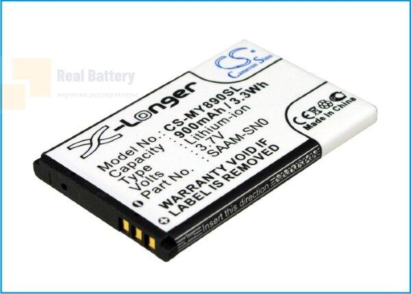 Аккумулятор CS-MY890SL для Vertu Ascent 3,7V 900Ah Li-ion