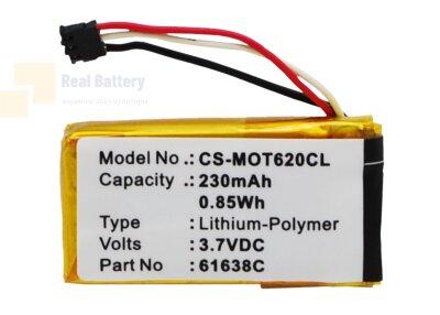 Аккумулятор CS-MOT620CL для Motorola Motoactv 3,7V 230Ah Li-Polymer