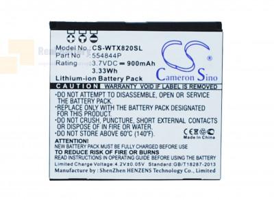 Аккумулятор CS-WTX820SL для Wayteq X820 3,7V 800Ah Li-ion